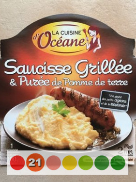 Saucisse Grillee Puree De Pomme De Terre La Cuisine D Oceane