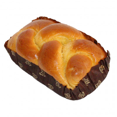 Brioche tressee vendeenne label rouge 400g pur beurre (Nobrand)