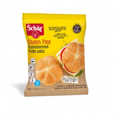 Petits pains - kaisersemmel 350g (Schär)