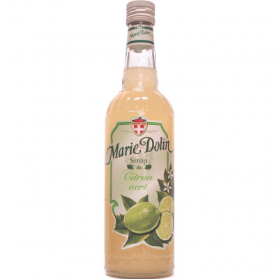 Ble 70cl sirop citron vert marie dolin (Marie dolin)