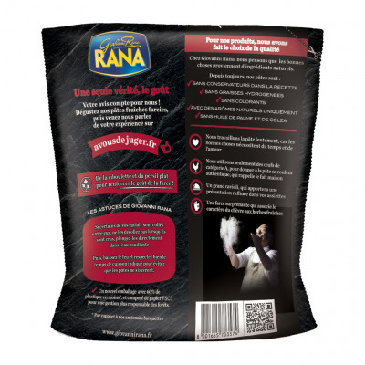 Rana grand ravioli fromage de chevre et fines herbes 250 grs (Rana)