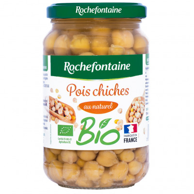 Rochefontaine pois chiches bio 37cl (Rochefontaine)