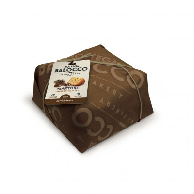 Panettone marrons glaces 750grs emballe main (Bottega balocco)