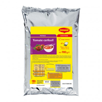 Maggi potage instantané tomate cerfeuil special cafeterie poche 900 g (Maggi)