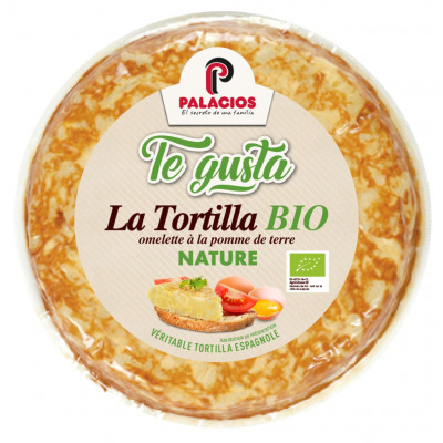 Tortilla española bio nature 500gr (Te gusta)