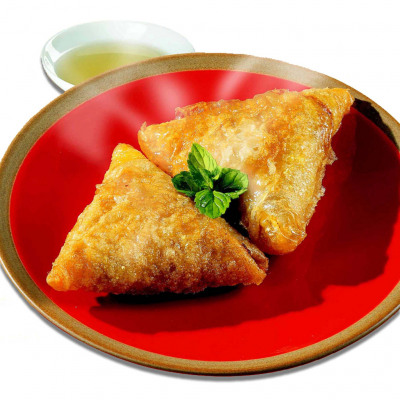 8 samoussas poulet 70g (Délices d'orient)