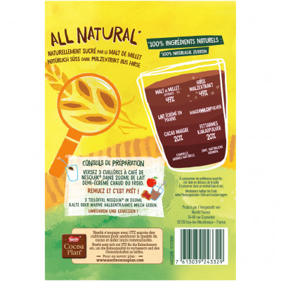 Nesquik all natural malté 400g (Nesquik)