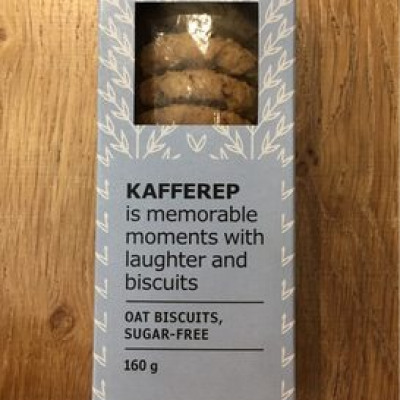 Kafferep, biscuit à l'avoine, sans sucre (avec édulcorant) (Ikea)