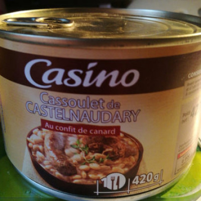 Cassoulet de castelnaudary au confit de (Casino)