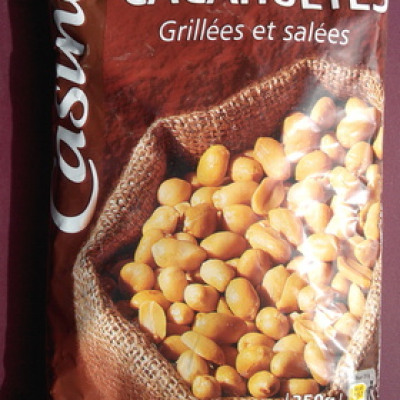 Cacahuètes grillées et salées 250g casino (Casino)