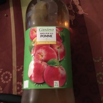 100% pur jus pomme (Casino)