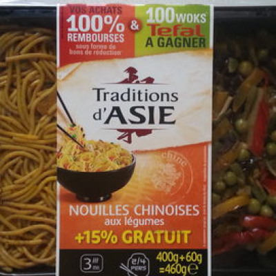 Nouilles chinoises aux légumes (Traditions d asie)