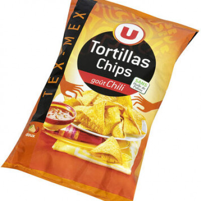 Tortilla chips goût chili (U)