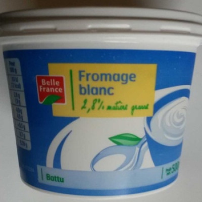 Fromage blanc (2,8% mg) (Belle france)