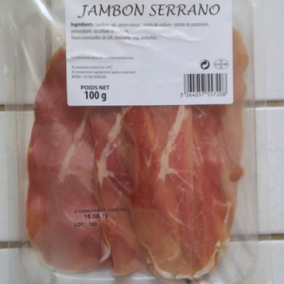 Jambon serrano (Berni)