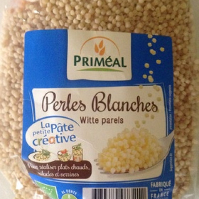 Perles blanches (Priméal)