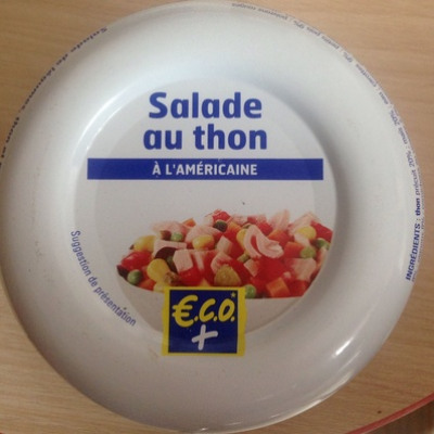 Salade de thon à l'américaine (éco+)