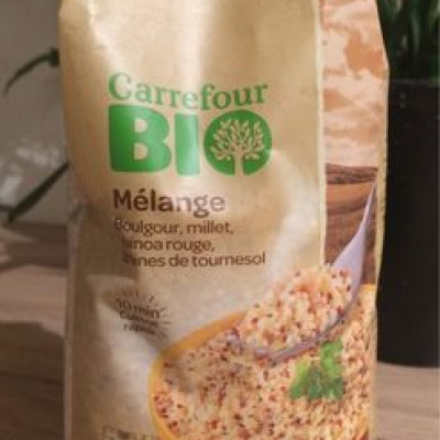 Melange boulgour millet quinoa (Carrefour)