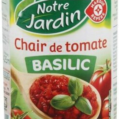 Chair tomate basilic (Notre jardin)