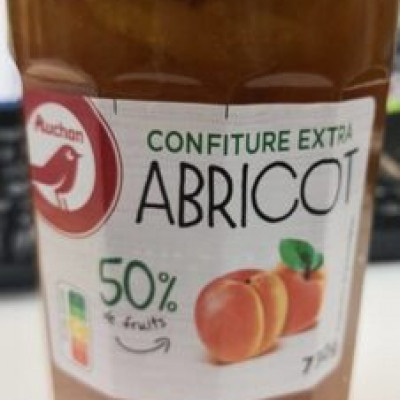 Confiture extra abricot (Auchan)