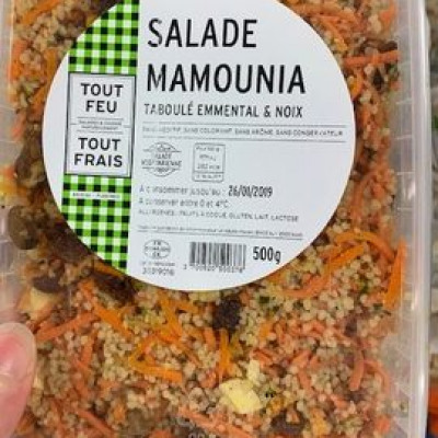 Salade mamounia (Tout feu tout frais)