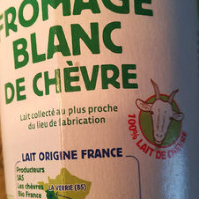 Fromage blanc de chèvre (Biocoop)