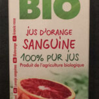 Jus d'orange sanguine (Planete bio)
