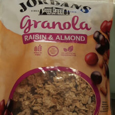 Granola raisin amandes (Jordans)