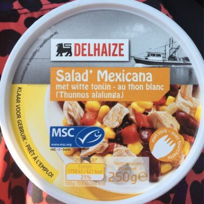 Salad' mexicana (Delhaize)